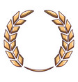 certified wreath icon cartoon style vector image vector image