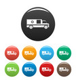 first aid icons set color vector image vector image