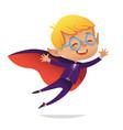 kids costume party dracula vampire boy vector image vector image