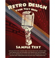 Retro concert poster vector | Price: 1 Credit (USD $1)