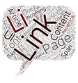 SEO and Links Explained text background wordcloud vector image vector image
