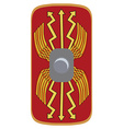 Legionary shield vector image
