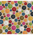 button pattern vector image vector image