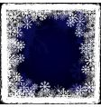 frozen window vector image vector image