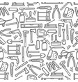 repair and diy construction work tools pattern vector image vector image