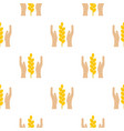 spica pattern flat vector image vector image