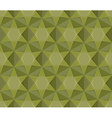 Army seamless pattern Geometric Military texture vector image vector image