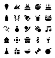 Christmas Icons 2 vector image vector image