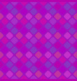geometrical purple square pattern background vector image vector image