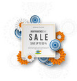 indian independence day sale banner 3d wheels