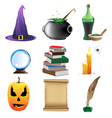 Magic objects vector image vector image