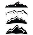 Mountains vector image vector image