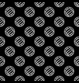 seamless black waterpolo background vector image vector image