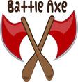 Battle Axe vector image vector image