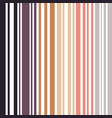 earth colored pinstripes in soft murky colors vector image vector image