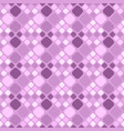 geometrical purple seamless square pattern vector image vector image