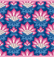 jacobean floral pattern meadow flowers vector image vector image