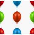 modern seamless balloons background vector image