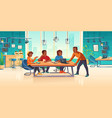 people in coworking area think business idea vector image