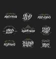 ramadan kareem arabic islamic typography vector image vector image