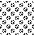 seamless white football background vector image vector image