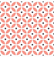 abstract seamless geometric pattern in vector image vector image