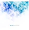 Blue shiny technical background vector image vector image