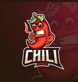 chili gaming vector image