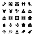 Christmas Icons 6 vector image vector image