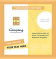 cupboard company brochure template busienss vector image vector image