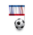 Soccer Balls or Footballs with flag of Crimea vector image vector image