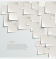 White paper abstract background vector image vector image