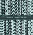 12 different japan traditional seamless patterns vector image