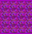 abstract purple seamless diagonal square pattern vector image vector image