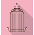 Birdcages icon Decoration object vintage concept vector image vector image