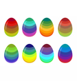 eggsrain vector image vector image