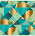 geometric luxury seamless pattern for background vector image vector image
