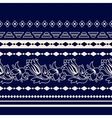Lines Paisley seamless pattern vector image vector image