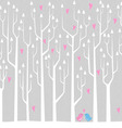 Love Forest vector image vector image