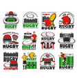 rugchampionship team and equipment shop icon vector image vector image