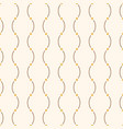 seamless minimalistic pattern of curved lines vector image vector image
