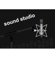 Sound Studio vector image