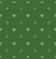 st patrick s day seamless pattern clover leaves vector image
