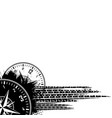 tire track clock grunge background vector image