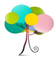 Tree - Abstract Tree vector image vector image