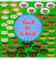 back to school 3 vector image vector image
