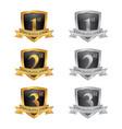 congratulation emblem vector image