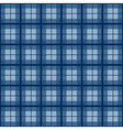 Navy Blue Tartan Background vector image