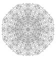 ornamental mandala decorative design element vector image