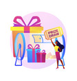 prize draw concept metaphor vector image vector image